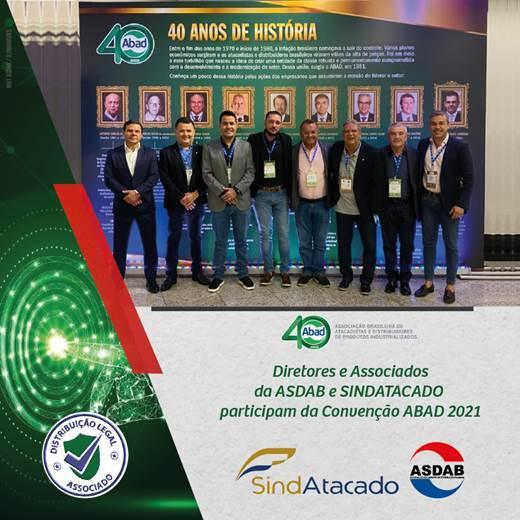 ASDAB e SINDATACADO participam da 40ª Convenção Anual ABAD